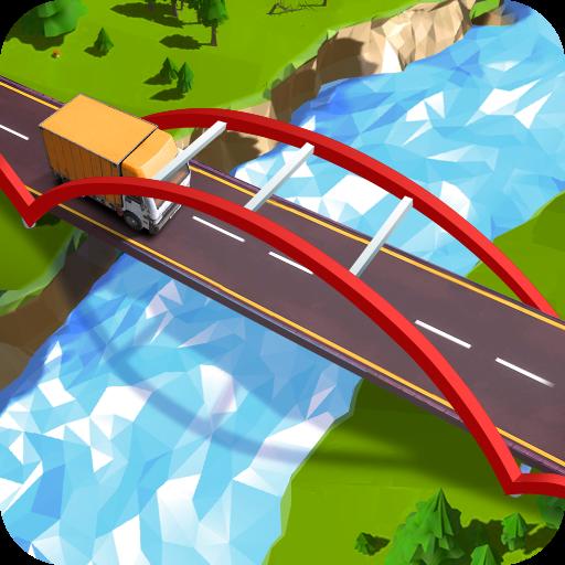 交通桥梁建筑的道路(建筑模拟游戏