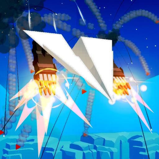 纸飞机混战3D大量货币破解版v1.7完美版