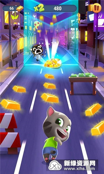汤姆猫跑酷小游戏