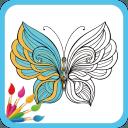 梦幻填色花园完成图高清v1.0免费版