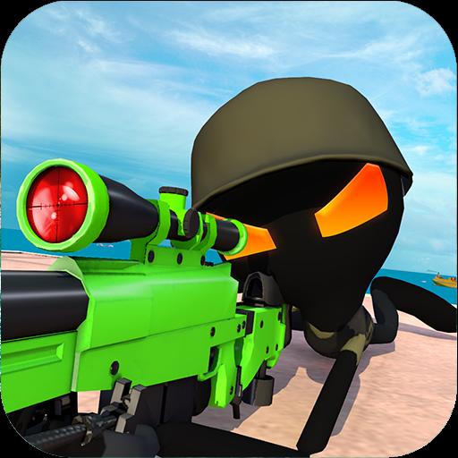 火柴人狙击手3最新汉化版v1.2无敌版