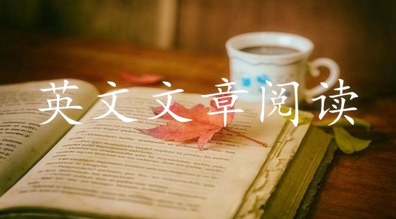 英文文章阅读